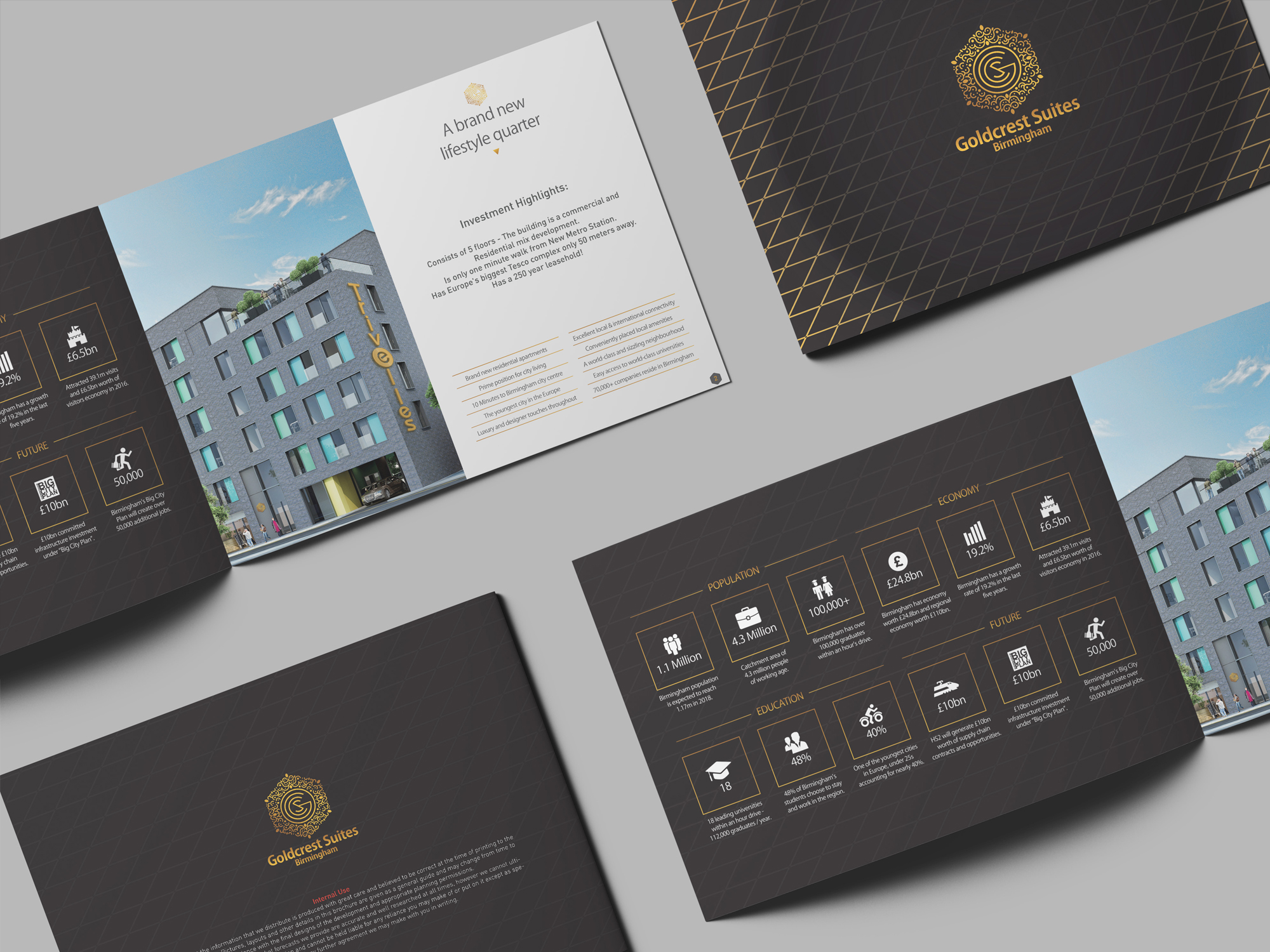 Goldcrest - Brochure Design